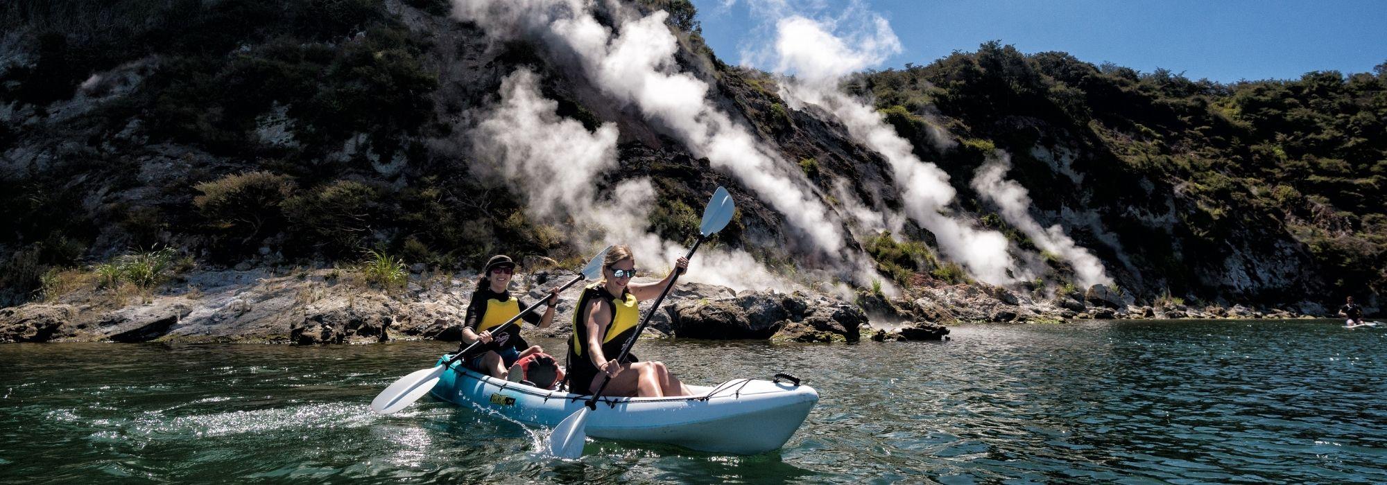 Head outdoors to feel fresh and invigorated in Rotorua